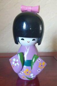 Kokeshi Doll Purple