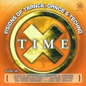 Time-X-8-2001-Jam-amp-Spoon-Kay-Cee-Blank-amp-Jones-Tony-Walker-CD