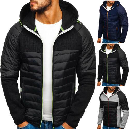 Transition Veste matelassée Sweatshirt Sweatjacke Zip Hiver Hommes Bolf 4d4 Sport