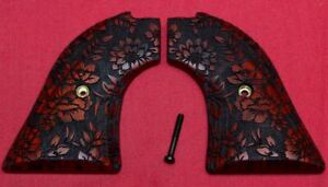 Heritage Arms Rough Rider Wood Grips .22 lr / .22 mag Floral RW