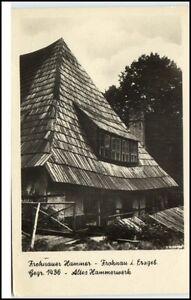 Frohnau-Sachsen-DDR-Postkarte-1956-gelaufen-Partie-am-Frohnauer-Hammer