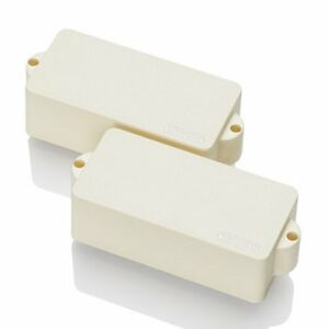 EMG-P-Active-P-Precision-Bass-Pickups-Set-Ivory-Solderless