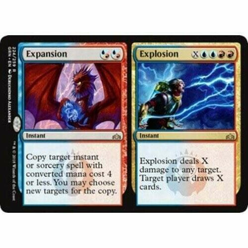2x Expansion//Explosion Near Mint Magic modern legacy cube Guilds of Ravnica GRN