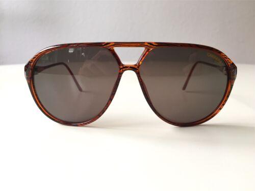 037fbdb23e283 Nos Rare Vintage Carrera Grain 80s Medium large Austria 5423 Wood Sunglasses  New HTXwxP