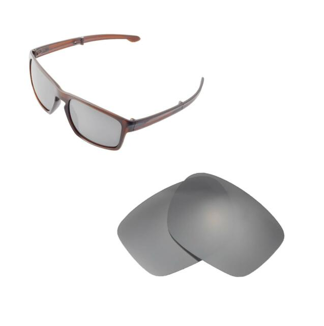 9dab198c08 New Walleva Titanium Polarized Replacement Lenses For Oakley Sliver F  Sunglasses