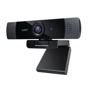 Aukey PC-LM1E Webcam FullHD 1920x1080 (30 FPs) Skype  FaceTime HiFi Mikrofon