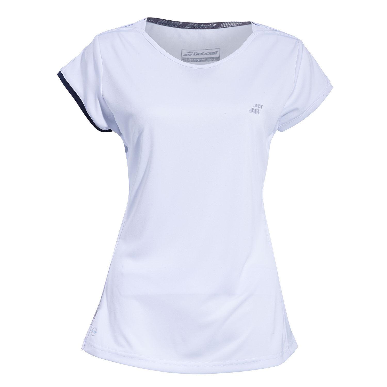 Babolat Womens Performance Lightweight Cap Sleeve Tennis Top