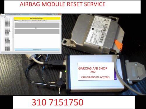 2016-2018 HONDA CIVIC ACCORD AIRBAG MODULE COMPUTER RESET SERVICE
