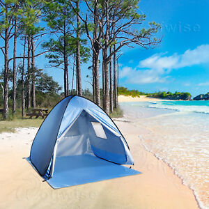 Image is loading WolfWise-Beach-Tent-Easy-Pop-Up-Durable-Instant- & WolfWise Beach Tent Easy Pop Up Durable Instant Sun Shelter Anti ...