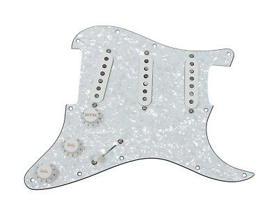 fender tex mex 920d custom loaded pre wired strat pickguard wp wh 759681034193 ebay. Black Bedroom Furniture Sets. Home Design Ideas