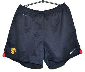 Manchester United 2004/2005/2006 HOME FOOTBALL SHORT JERSEY Nike Taglia L adulto