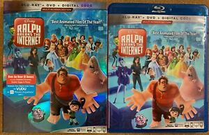 DISNEY-RALPH-BREAKS-THE-INTERNET-BLU-RAY-DVD-2-DISC-SET-SLIPCOVER-SLEEVE-BUY