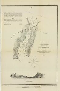 1852-US-Coast-Survey-034-Catalina-Harbor-034-Original-electrotype