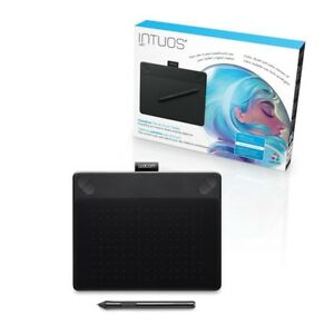 NEW-Wacom-Intuos-ART-Pen-amp-Touch-SMALL-BLACK-Digital-Graphic-Tablet-PC-amp-Mac