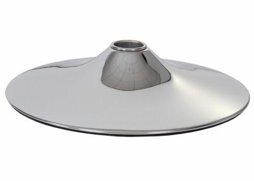 aspect chrome Ø 45 cm Fußteller plaque de sol pied de support pour Tabouret De Bar Lounge Fauteuil