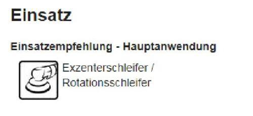 Sia 7241 siacarbon Schleifscheibe 150mm P120-P320