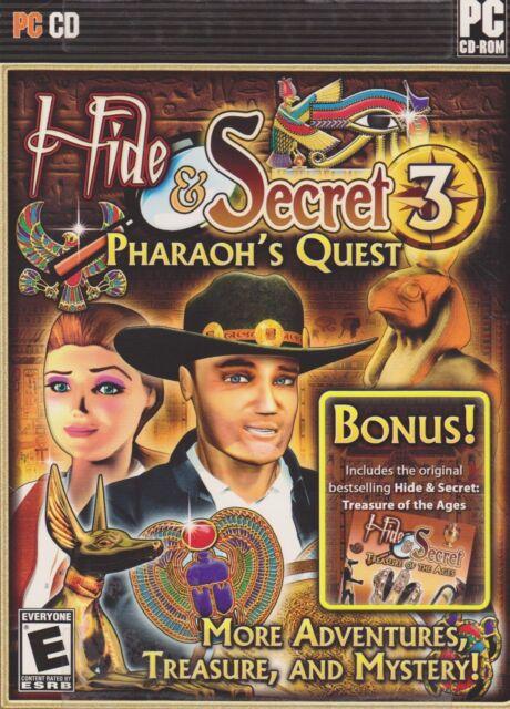 Hide & Secret 3 Pharaoh's Quest PC Games Window 10 8 7 XP Computer hidden object