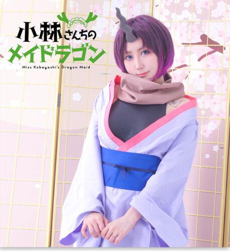 Anime Miss Kobayashi/'s Dragon Maid Elma Tohru Dragon Horn Replica Cosplay Props