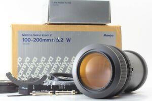 quasi-Nuovo-di-zecca-con-scatola-MAMIYA-Sekor-Zoom-Z-100-200mm-f-5-2-W-per-RZ67-Giappone-Pro-II