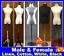 Linen-Cotton-Cover-Female-Male-Child-White-Black-Mannequin-Torso-Wooden-Stand thumbnail 1