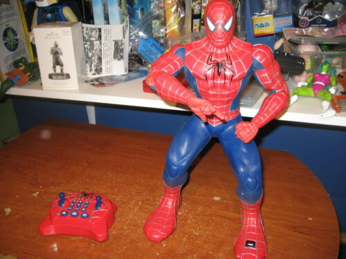 2007 Marvel Spider-Man 3 Action Command infrared remote control programmable rc