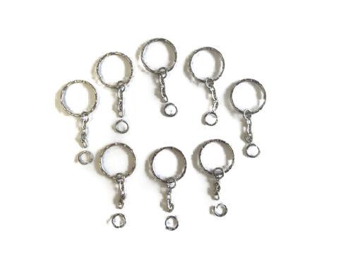 """24 unités Pack Acrylique Keychain Blanks 3/"""" échantillons 1//8/"""" épais Clair et Couleurs"""