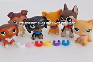 haute couture professionnel de premier plan haute couture Détails sur LPS ❤ Accessoires ❤ extrêmement Arrière Colliers tous 6  couleurs pour Littlest Pet Shop- afficher le titre d'origine