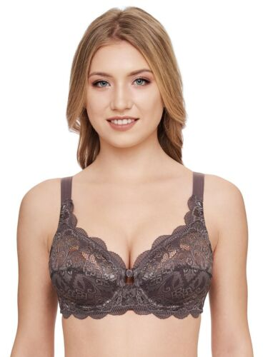 Underwired Lace Bra Taupe 8008 Latina by Susa