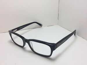 22b37ce7afb Image is loading Nine-West-Eyeglasses-FRAMES-NW5011-Black-w-studs-