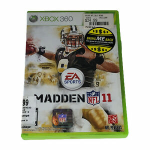 Madden NFL 11 (Microsoft Xbox 360, 2010) Complete w/Manual