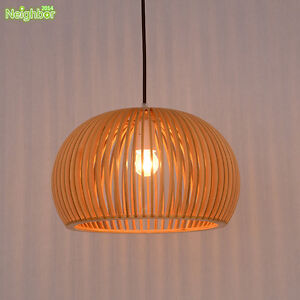 Modern wood birdcage pendant lamp tom lights ceiling light image is loading modern wood birdcage pendant lamp tom lights ceiling aloadofball Choice Image