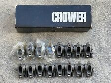 Crower Enduro Stainless Roller Rocker Arms Small Block Chevy 16 Ratio Race Nhra