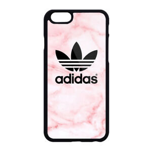 Adidas Pink Marble Print Plastic Case Iphone 4s 5s Se 6s 7 8 X Xs