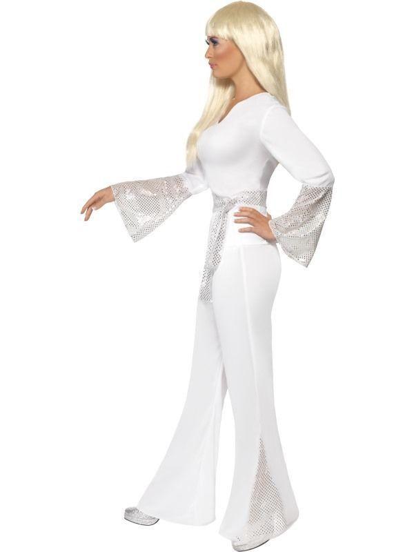 Damen 70s Jahre Disco Dame Kostüm 1970s 1970s 1970s 70's Jahre Outfit von Smiffys   Schenken Sie Ihrem Kind eine glückliche Kindheit    Feine Verarbeitung     Neuer Markt  5233ab