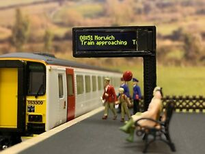 Inventif Train-tech Smart Screen Customise Your Animated Screen Model Railway Dc & Dcc