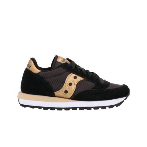 1044-521 SAUCONY JAZZ sneakers nero scarpe donna mod