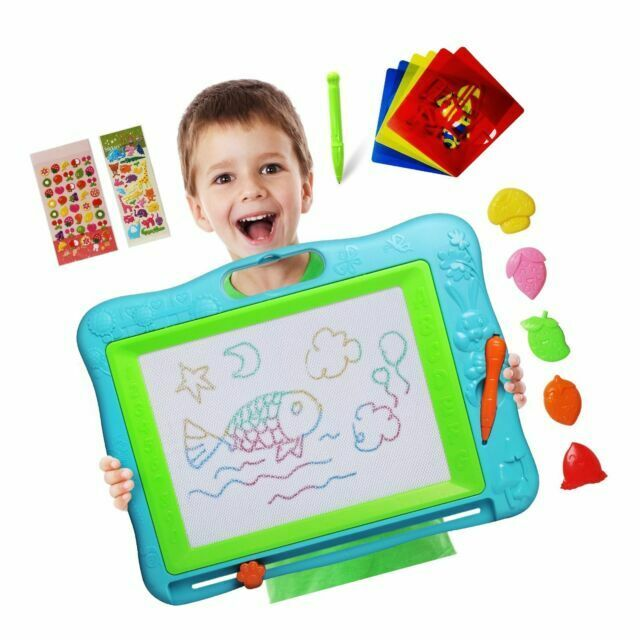 TTMOW Magnetic Drawing Board Games Toy Magna Doodle Erasable Colorful Drawing Bo