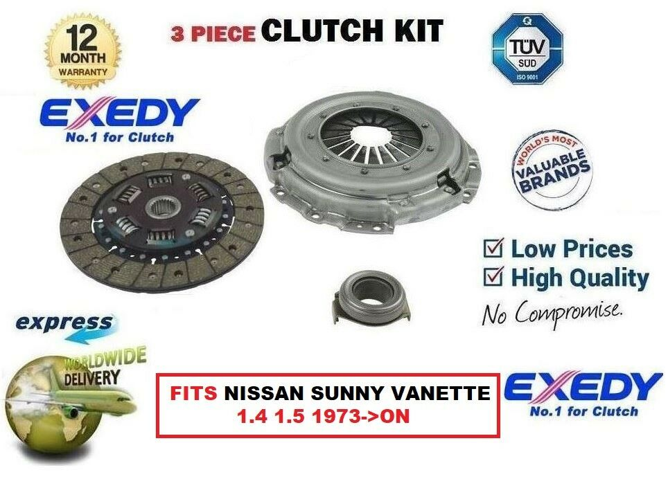 For Nissan Sunny Vanette 1.4 1.5 1973 -   ON EXEDY OE Quality Clutch Kit