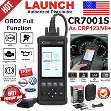Launch X431 CR7001S OBD2 Diagnostic Tool Car Auto Code Reader ABS SRS Oil Reset
