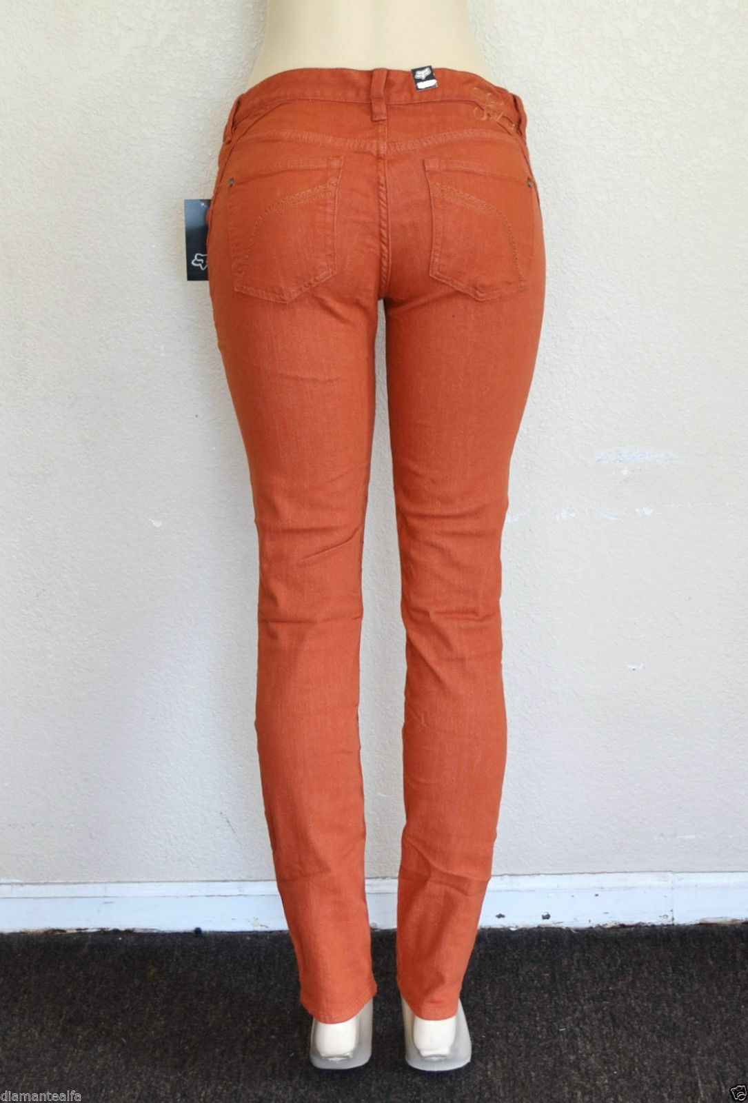 Fox Racing Women's Ripper Jeggings - Burnt orange sz 7 28