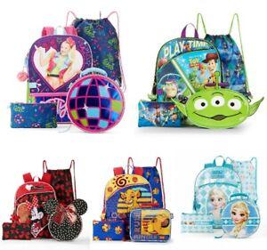 5 Piece Backpack Sets JOJO SIWA-TOY STORY 4-MINNIE MOUSE