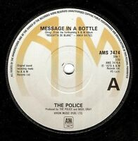 THE POLICE Message In A Bottle Vinyl Record 7 Inch A&M AMS 7474 1979 EX