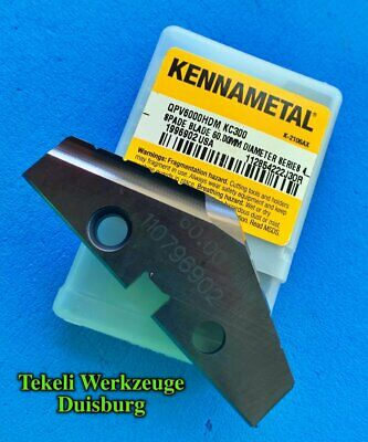 """NEW Kennametal NG2M140LK Qty 5 Top Notch Grooving Insert 1.4mm .055/"""" wide"""