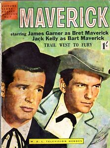 MAVERICK Picture Story Pocket Westen No 3, UK WDL Television Heroes