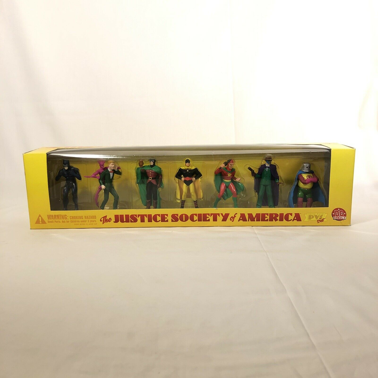 DC JUSTICE SOCIETY OF DIRECT AMERICA PVC Set 1999 HOURuomo Seuomo WILDCAT estrellama