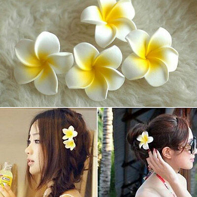 Flower Corsages Brooch Pin Clip Hair Jewelry Women Girl Lady Accessories