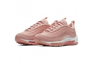 Details about Girls Nike Air Max 97 PE GS Trainers Shoes Pink White BQ7231 600 UK 4.5_5.5