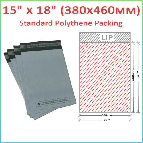 Details about  /Grey Plastic Parcel Bags Mailing Bag Postal Postage Bags Self Seal Poly Mailers