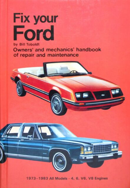 Fix Your Ford by Bill Toboldt