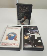 3 Michael Jackson Cassettes Heal the World, Give in to me, Thriller